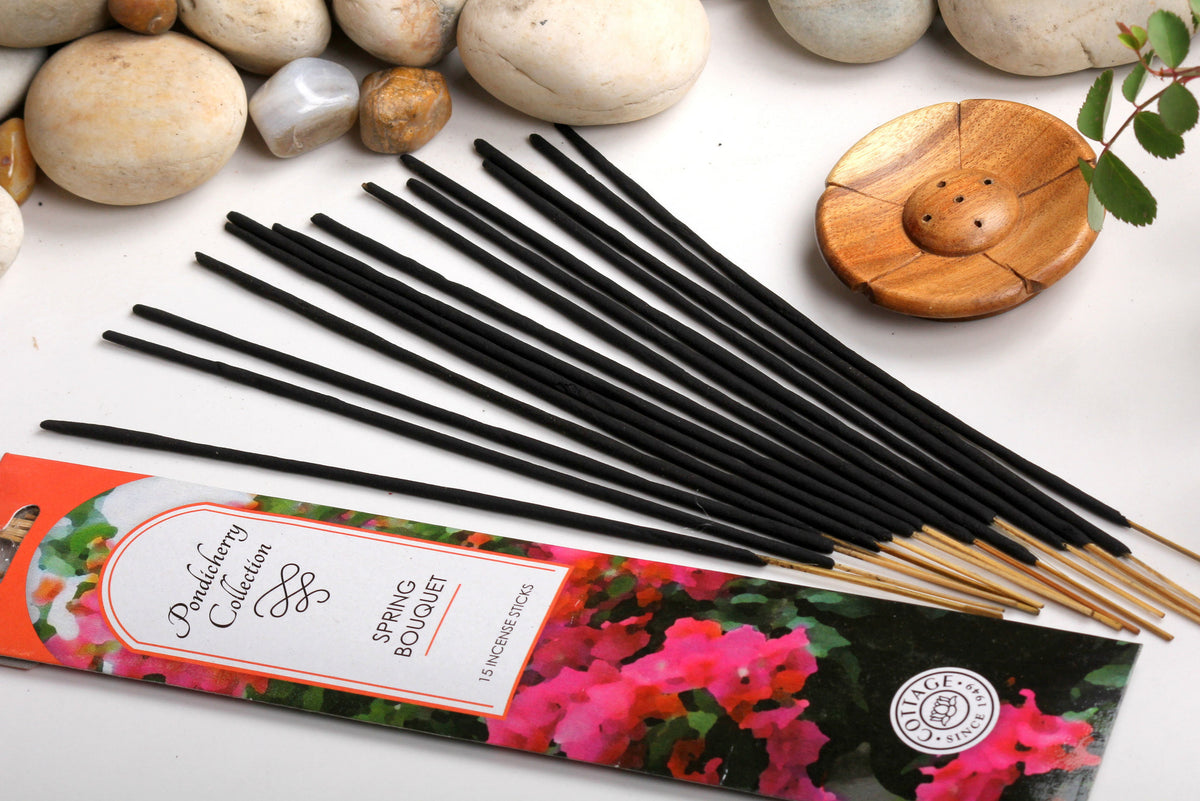Sri Aurobindo Ashram - Pondicherry Spring Bouquet Incense Sticks