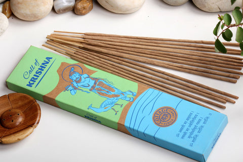 Sri Aurobindo Ashram - Call of Krishna Incense Sticks