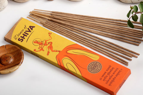 Sri Aurobindo Ashram - Dance of Shiva Incense Sticks