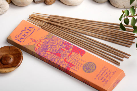 Sri Aurobindo Ashram - Sandhya Pooja Incense Sticks