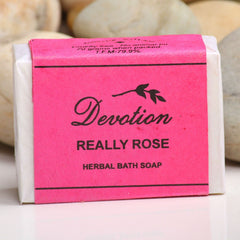 Sri Aurobindo Ashram - Devotion Really Rose Soap