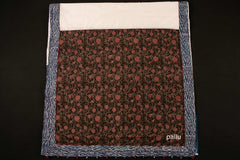 Bagru Block Printed Cotton Patchwork Chanderi Body Saree