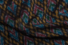 Handwoven Pochampally Ikat Mercerised Fabric