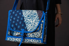 Tukdi Kaam Cotton Sling Bag