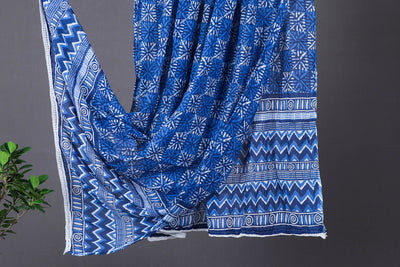 Jaipur Printed Soft Cotton Crush Dupatta