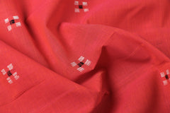 Pure Handloom Godavari Jamdani Buti Cotton Fabric