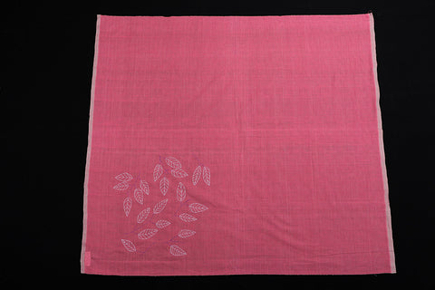 Bengal Kantha Embroidery Work Pure Handloom Cotton Blouse Piece