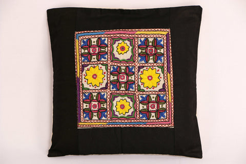 Tilonia Cushion Cover with Soof Embroidery