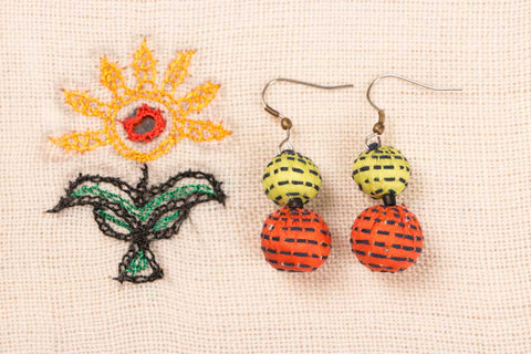Two Boria Earring by Jugaad
