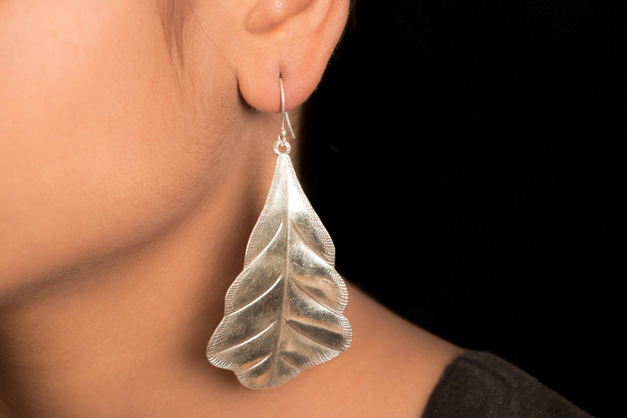 Hilly Sterling Silver Earring