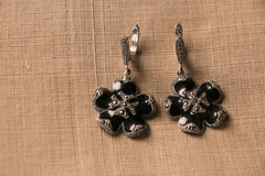 Sterling Silver Marcasite Earring