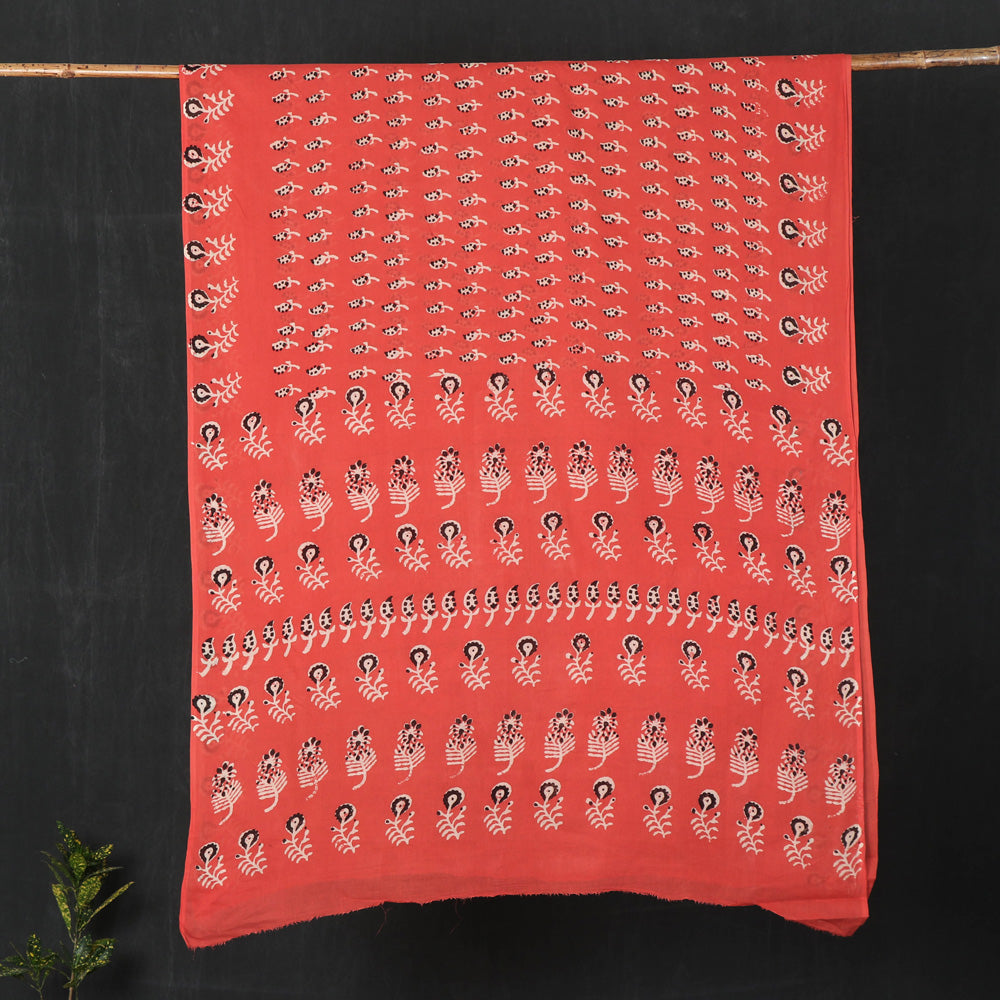 Nandana Dabu Print Cotton Saree from Tarapur