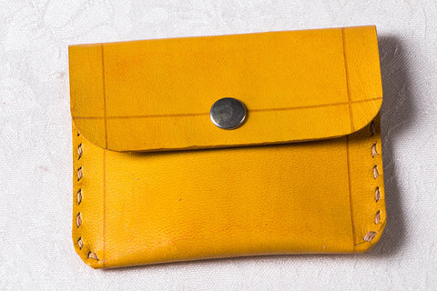 Handcrafted Kutch Leather Small Card Holder