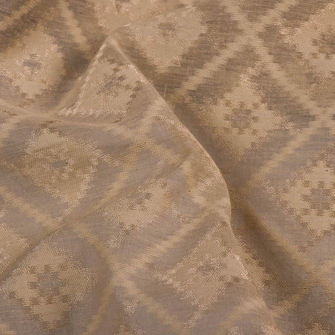 Traditional Pure Banarasi Viscose Silk Zari work Handloom Fabric