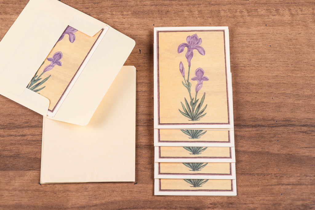 Sukirti Handmade Notecards with Envelopes (Set of 6)