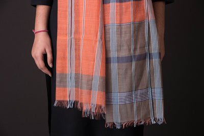 Bengal Handwoven Silk - Cotton Stole
