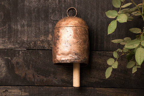 Kutch Copper Coated Bell (13 inches)