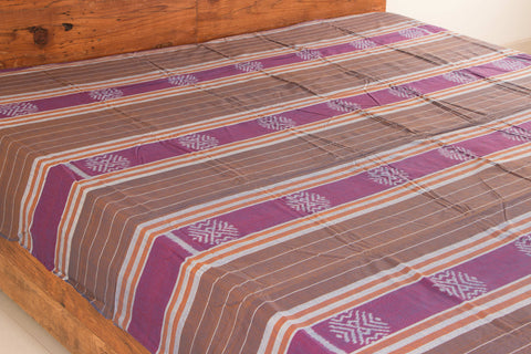 Handloom Sambalpuri Ikat Cotton Double Bedcover