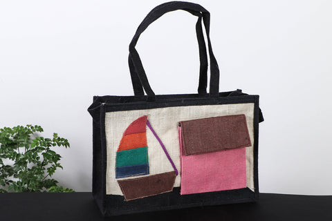 Handcrafted Multipurpose Jute Hand Bag