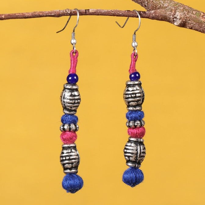 Patwa Threadwork Earrings by Kailash Patwa