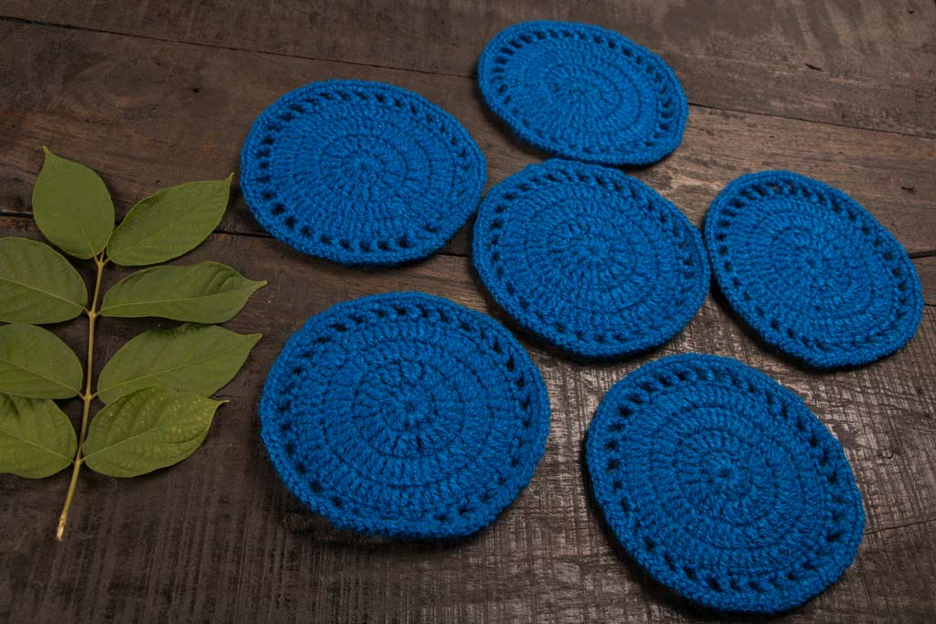 Coaster - Crochet by Purnima (set of 6)