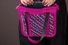 Handcrafted Kutch Leather Embroidery Work Shoulder Bag