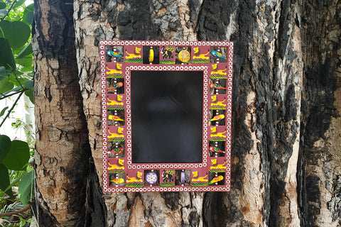 Handpainted Wooden Animal Photo Frame (Big)
