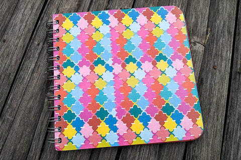 Ele Poo Paper Colouful Spiral Photo Album (small)
