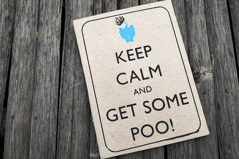 Ele Poo Paper Keep Calm Notebook