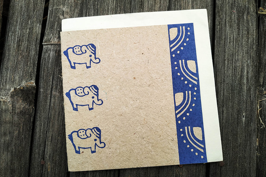 Ele Poo Paper Greeting Cards