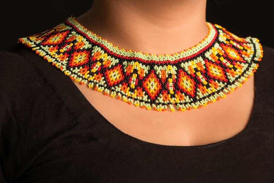 Designer Beadwork Necklace by Payal kaur Ahluwalia