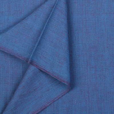 Oriental Blue - Dastkar Andhra Pre-Shrunk Handloom Cotton Fabric