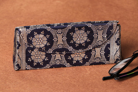 Brocade Fabric Embellished Spectacle Case