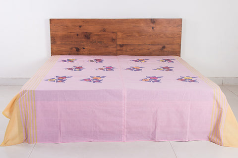 Moirangphee Manipuri Cotton Traditional Pure Handloom Double Bed Cover