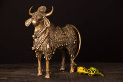 Tribal Bastar Dhokra Craft - Nandi