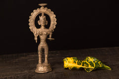 Tribal Bastar Dhokra Craft - Mata Statue