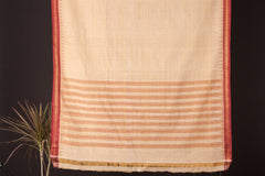 Mangalgiri Godavari Khadi Handloom Saree with Blouse by DAMA