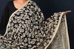 New Designwala Ajrakh Block Print Natural Dyed Fabric