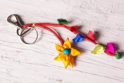 Phool Patti Keychain by Jugaad