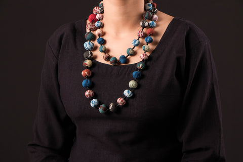 Handcrafted Basant Mala Necklace