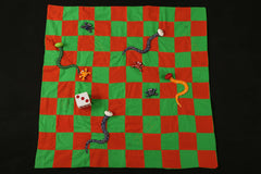 Big Fabric Spread Snakes & Ladders