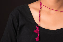 Paperjewelz Ceramic Necklace by Vrinda