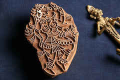 Teak Wood Handcarved Block
