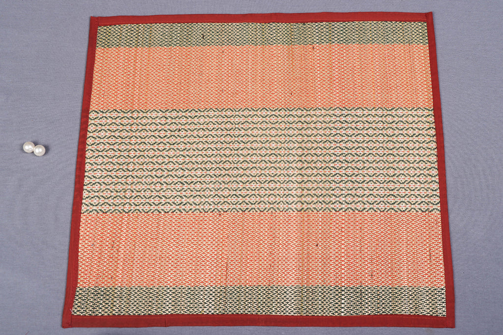 Madur Grass Mat Assan of Midnapur (46 x 53 cm)