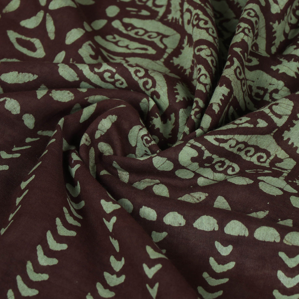 Hand Batik Printed Mul Cotton Saree