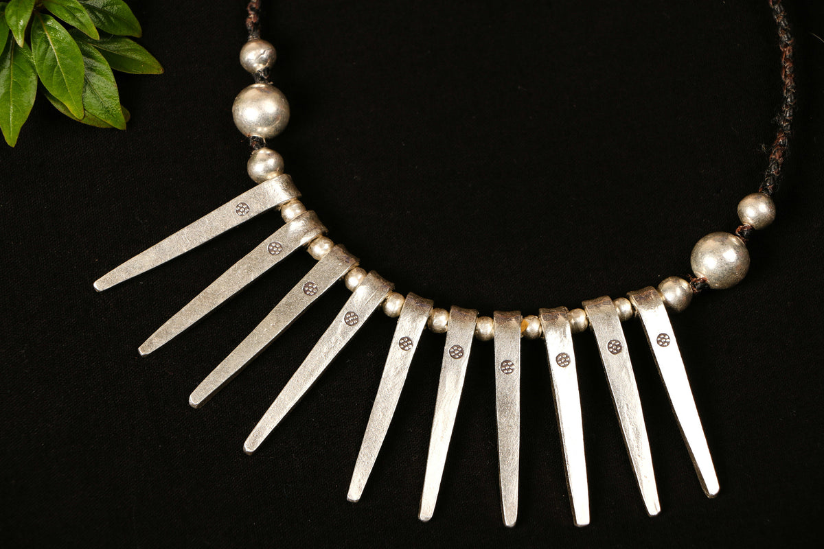 Hilly Sterling Silver Necklace