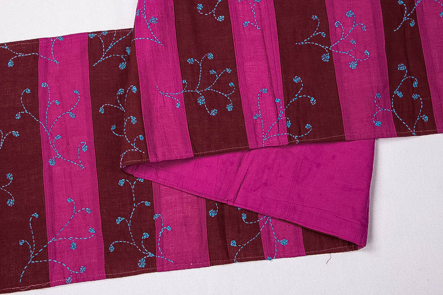 Sonapani Kantha Work Table Runner