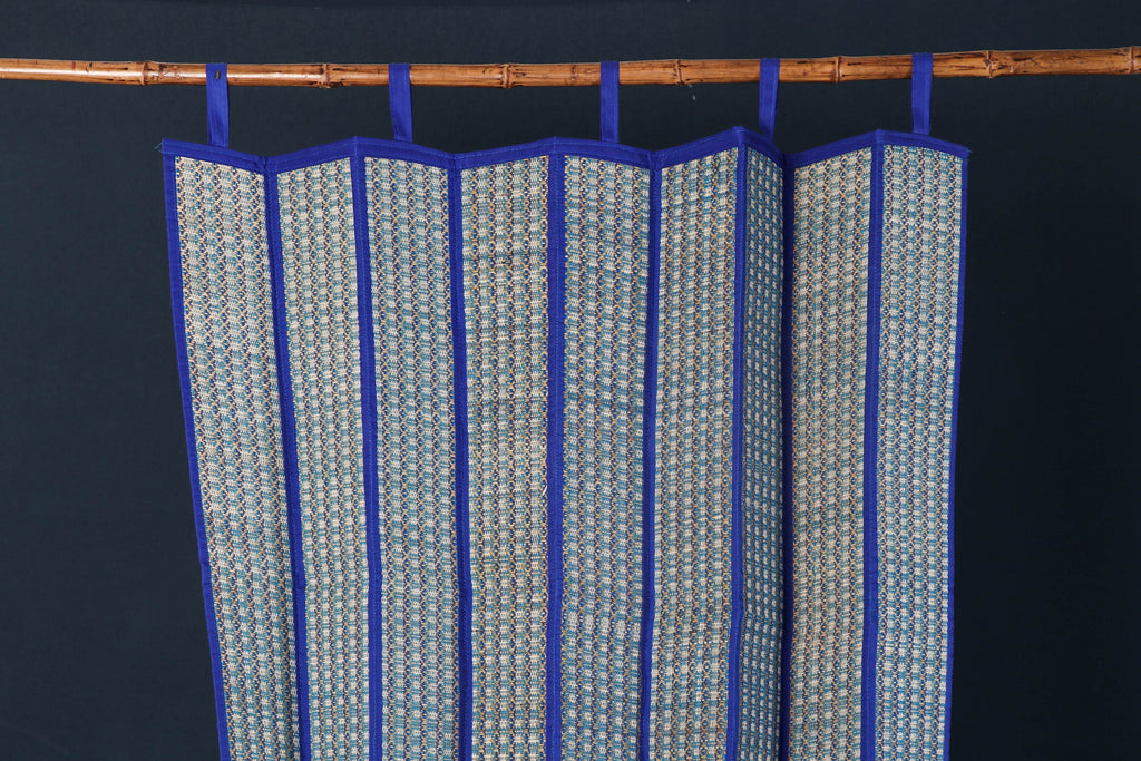 Madur Grass Window Curtain of Midnapur (140 x 116 cm)