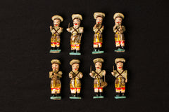 Handpainted Wooden- Band (set of 8) (Assorted)