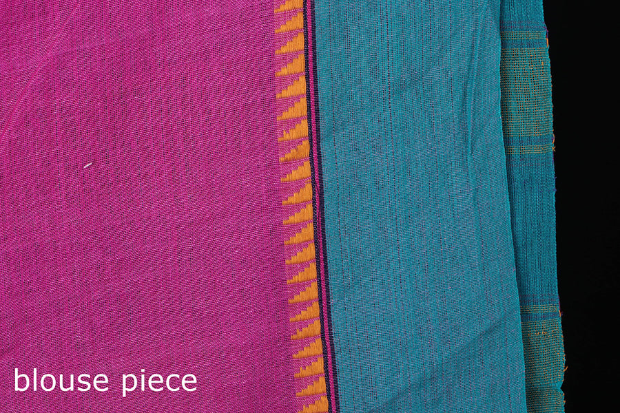 Phulia Bengal Handwoven Naksha Cotton saree